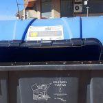 Vinilos informativos en los contenedores de Las Torres de Cotillas para facilitar el reciclaje4