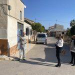 A punto de comenzar las obras de renovación de aceras y asfaltado del paraje de Los Risos3