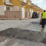 Un plan municipal arreglará cerca de 900 m2 de baches en el núcleo urbano y pedanías4