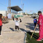 Cerca de 20 jóvenes torreños participan en un gymkana de atletismo en el polideportivo municipal7