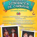 Cartel CONCURSO DISFRACES CARNAVAL Las Torres de Cotillas 1