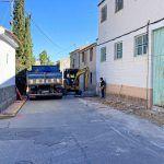 Los trabajos para renovar las aceras y el asfaltado del barrio de San Pedro en marcha2