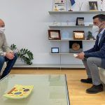 """El eurodiputado Marcos Ros se interesa por la EDUSI """"Las Torres Conecta"""" que cuenta con 5 millones de fondos FEDER2"""
