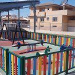 Renovada la zona de juegos infantiles del CAI Titina
