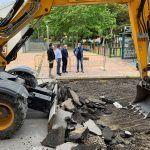 Comienzan las obras de adecuación del entorno de la calle Bartolomé Ródenas5