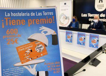 """La campaña """"La hostelería de Las Torres tiene premio"""" impulsa el sector con 15.000 euros en premios entre sus clientes2"""