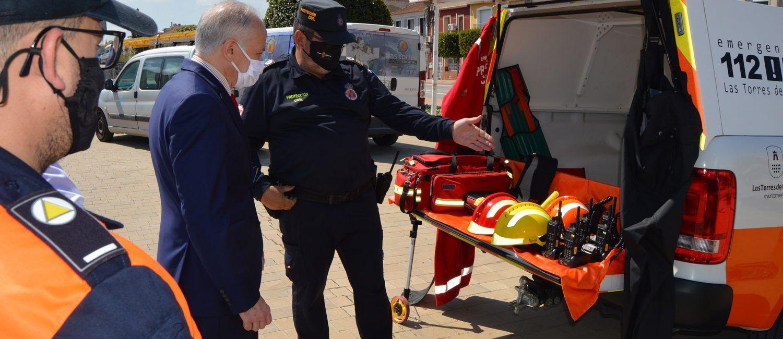 Protección Civil incorpora un vehículo todoterreno y un sistema seguro de telecomunicaciones2