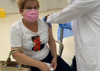 Continúan las vacunaciones en el centro social de Personas Mayores de Las Torres de Cotillas
