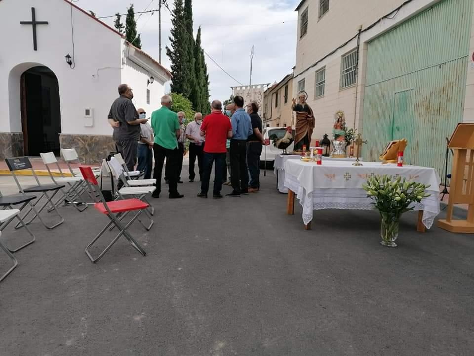 210621 Los auroros torreños sustituyen su tradicional encuentro por una misa cantada a su patrón San Pedro 04