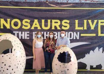 210622 Los dinosaurios eligieron el pasado fin de semana las Torres de Cotillas para volver a pisar la Tierra 01