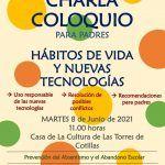 Una charla gratuita para padres y madres sobre hábitos de vida y nuevas tecnologías