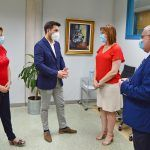 El alcalde torreño y la vicepresidenta regional se reúnen por el futuro complejo para mayores y personas con discapacidad