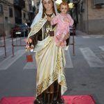 El barrio del Carmen homenajea a su patrona con una misa al aire libre3