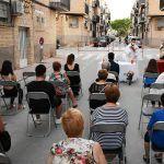 El barrio del Carmen homenajea a su patrona con una misa al aire libre4