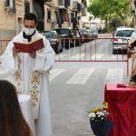 El barrio del Carmen homenajea a su patrona con una misa al aire libre5