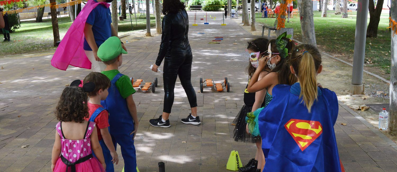 """Los pequeños """"Superhéroes"""" lo pasan en grande en Las Torres de Cotillas7"""