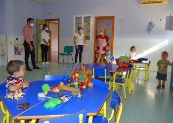 112 menores comienzan el curso en las escuelas infantiles municipales de Las Torres de Cotillas