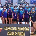 12 medallas para el Bádminton Las Torres en el regional de categorías inferiores