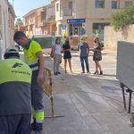 Comienzan las obras de renovación de las infraestructuras urbanas de la calle Pablo Neruda2