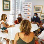 El Ayuntamiento torreño y AMIAB colaborarán en programas especiales de formación profesional y ocupacional para jóvenes