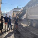La renovación del firme de la calle Mula incluida en el POS ya está en marcha