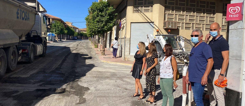 La renovación del firme de la calle Mula incluida en el POS ya está en marcha2