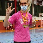 Tres oros una plata y tres bronces para el Bádminton Las Torres en la prueba de Ronda del circuito nacional sénior2