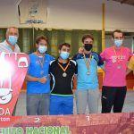 Tres oros una plata y tres bronces para el Bádminton Las Torres en la prueba de Ronda del circuito nacional sénior3