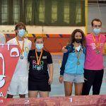 Tres oros una plata y tres bronces para el Bádminton Las Torres en la prueba de Ronda del circuito nacional sénior5
