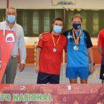 Tres oros una plata y tres bronces para el Bádminton Las Torres en la prueba de Ronda del circuito nacional sénior6