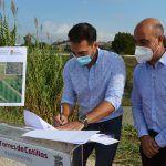 Las Torres de Cotillas y Molina de Segura firman el convenio para construir la pasarela peatonal que unirá La Loma con La Ribera