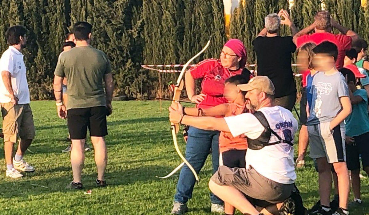 Fiestas LTC - jornada tiro con arco